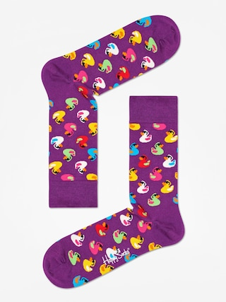 Skarpetki Happy Socks Rubber Duck (purple)