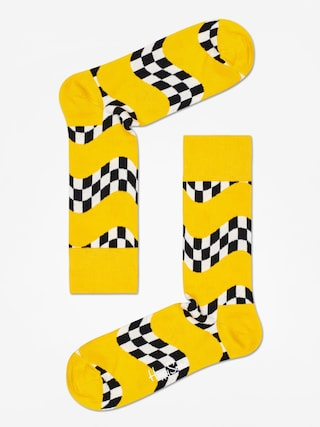 Skarpetki Happy Socks Race (yellow)