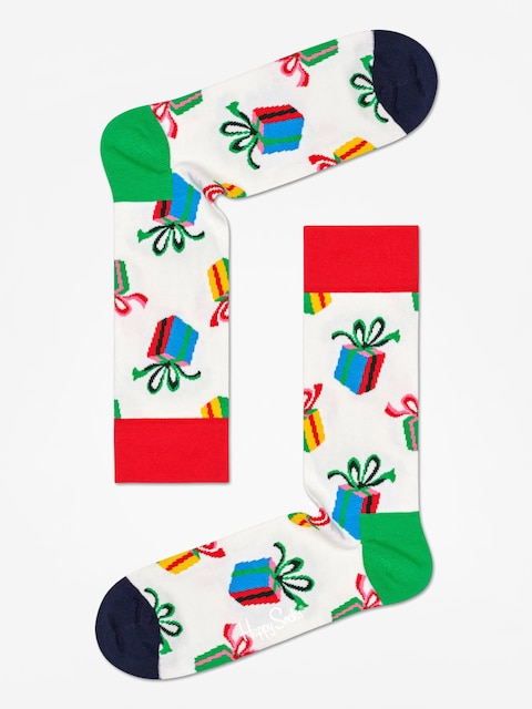 Skarpetki Happy Socks Presents (white)