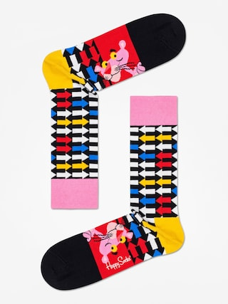 Skarpetki Happy Socks Pink Panther Jet Pink (black/multi)