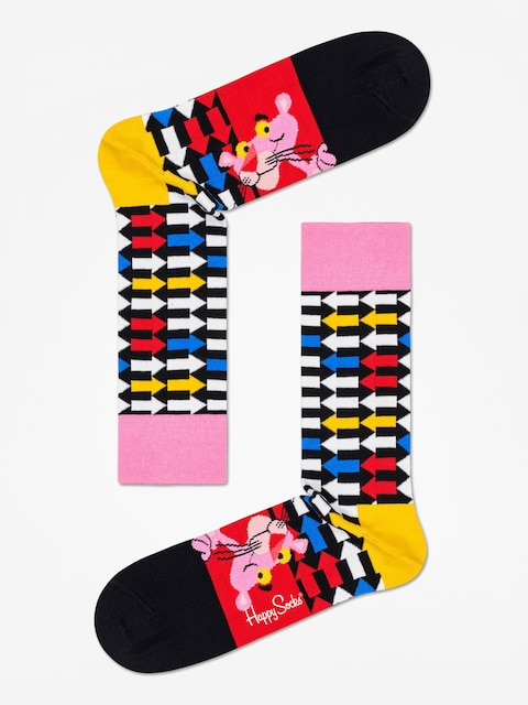 Skarpetki Happy Socks Pink Panther Jet Pink