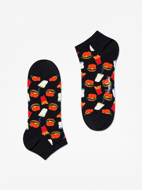Skarpetki Happy Socks Hamburger Low (black/multi)