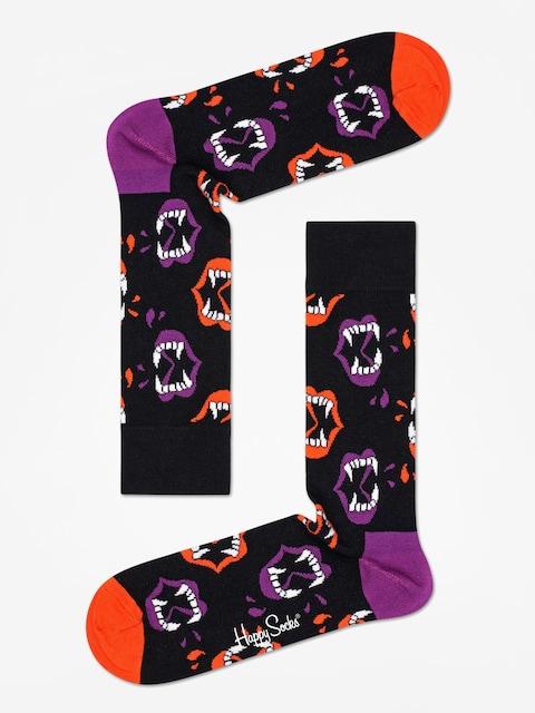 Skarpetki Happy Socks Halloween Fang (black/purple)