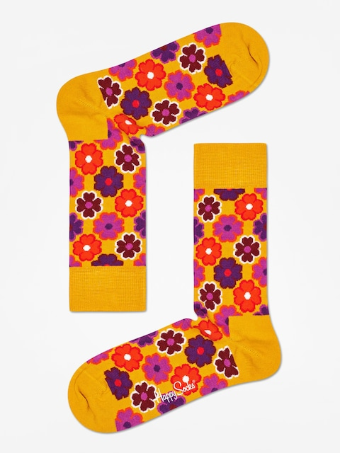 Skarpetki Happy Socks Flower Power (mustard)