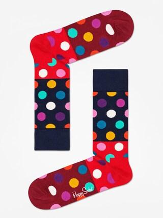 Skarpetki Happy Socks Big Dot Block (navy/red/maroon)
