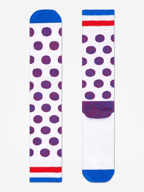 Skarpetki Happy Socks Athletic Big Dot (white)