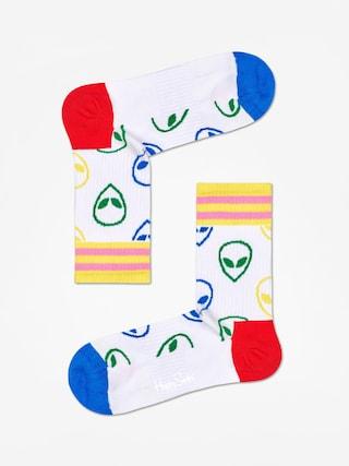 Skarpetki Happy Socks Athletic Alien Mid High (white)