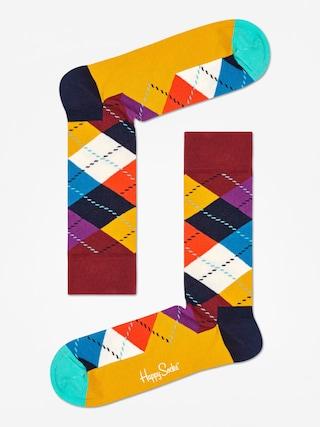 Skarpetki Happy Socks Argyle (brown/gold/multi)