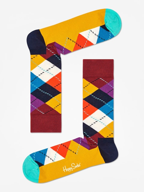 Skarpetki Happy Socks Argyle (brown/gold/multi)