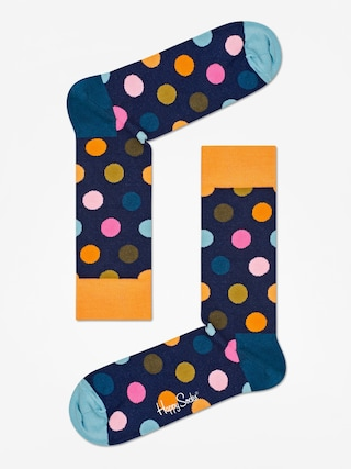 Skarpetki Happy Socks Big Dot (orange/navy/teal)