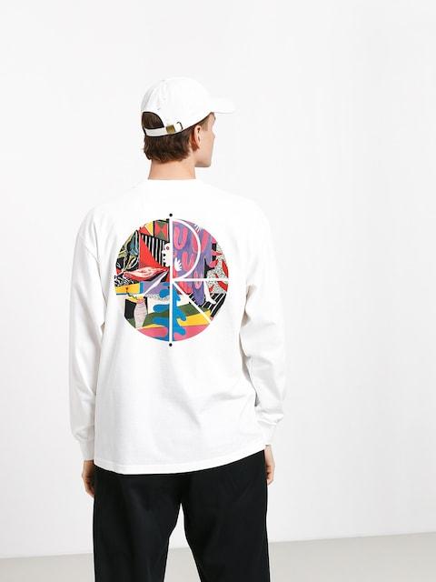 Longsleeve Polar Skate Tk Fill Logo (white)