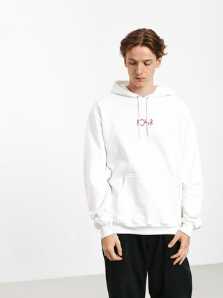 Bluza z kapturem Polar Skate Tk Fill Logo HD (white)