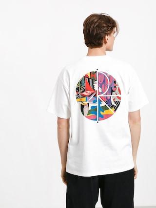 T-shirt Polar Skate Tk Fill Logo (white)