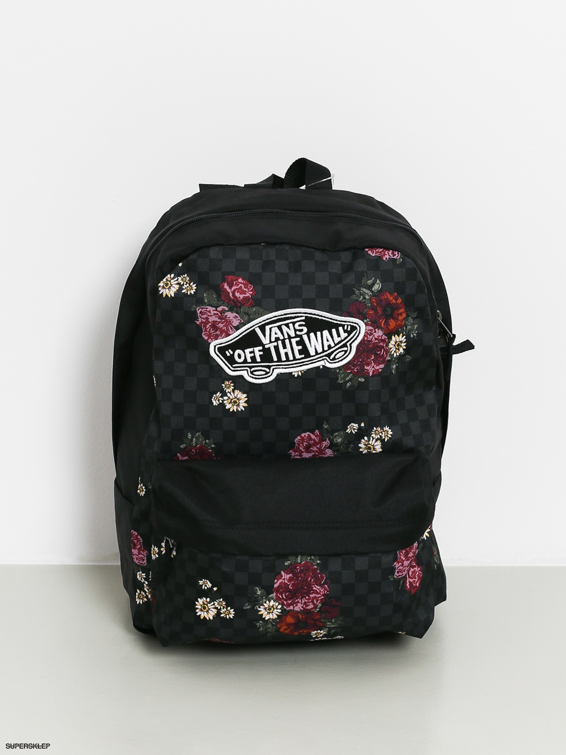 Plecak Vans Realm Wmn (botanical check)
