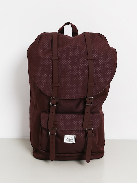 Plecak Herschel Supply Co. Little America (plum dot check)