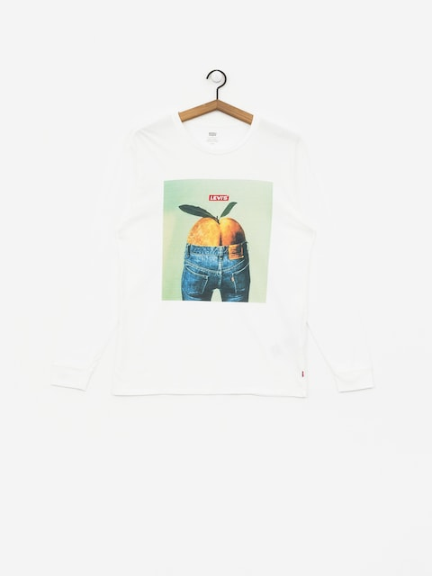 Longsleeve Levi's Graphic Mission (white)