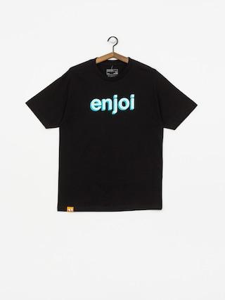 T-shirt Enjoi Helvetica Neue (black)
