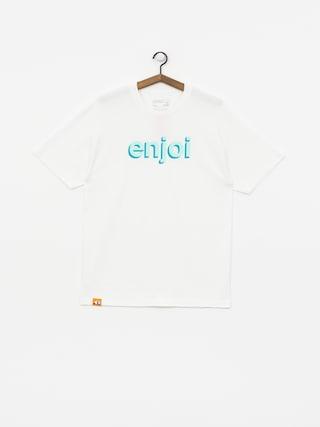 T-shirt Enjoi Helvetica Neue (white)