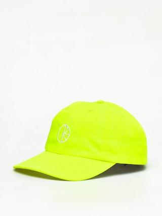 Czapka z daszkiem Polar Skate Stroke Logo ZD (neon yellow)