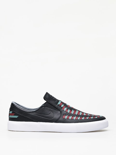 Buty Nike SB Zoom Janoski Slip Rm Crafted (black/black bicoastal team red)