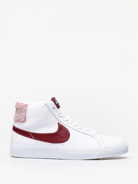 Buty Nike SB Zoom Blazer Mid Prm (white/team red)