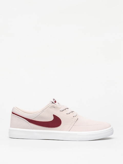 Buty Nike SB Solarsoft Portmore II (desert sand/team red summit white black)