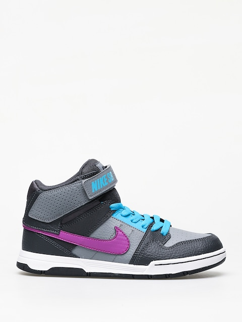 Buty Nike SB Mogan Mid 2 Jr Gs (cool grey/vivid purple blue lagoon)