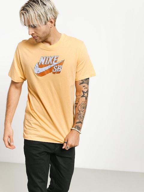 T-shirt Nike SB Logo Concrete (celestial gold)