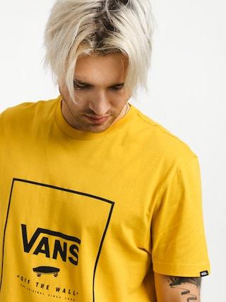 T-shirt Vans Print Box (sulphur/black)