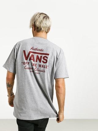 T-shirt Vans Holder St Classic (athletic heather/biking red)