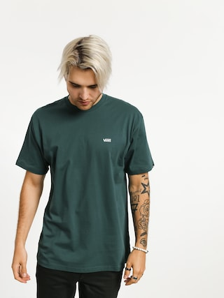 T-shirt Vans Left Chest Logo (trekking green)
