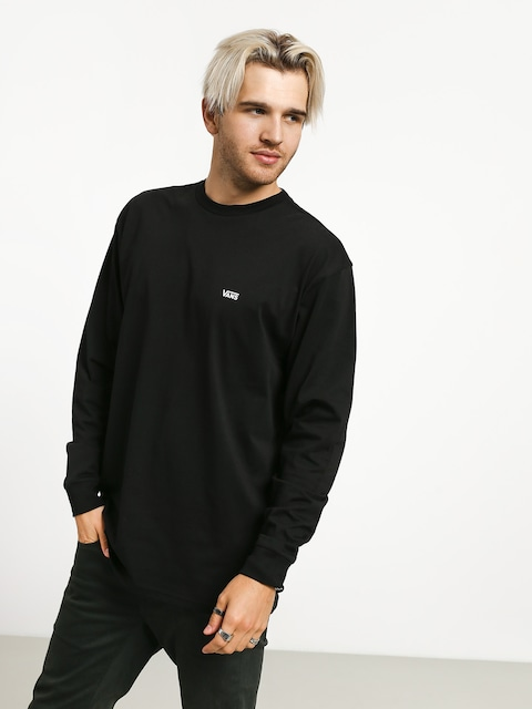 Longsleeve Vans Left Chest Hit (black/white)
