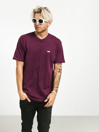 T-shirt Vans Left Chest Logo (prune)