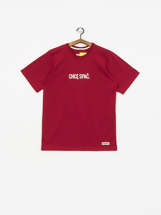 T-shirt Diamante Wear Chcę Spać (burgundy)