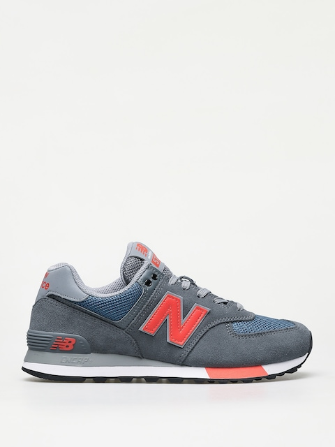 Buty New Balance 574 (grey/blue)