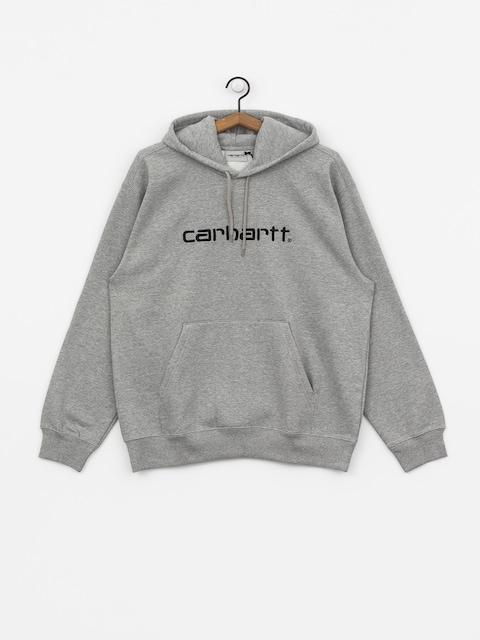 Bluza z kapturem Carhartt WIP Carhartt HD (grey heather/black)