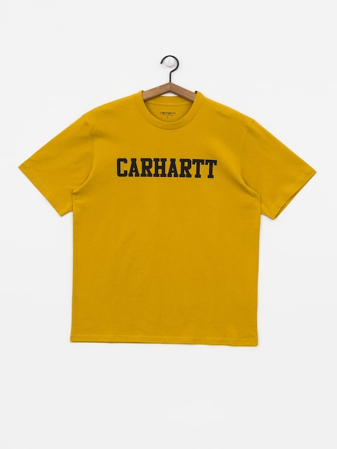 T-shirt Carhartt WIP College (colza/black)