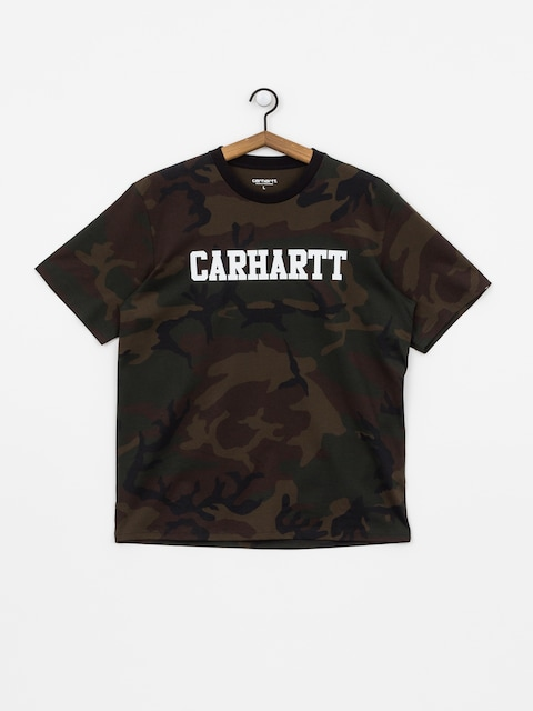 T-shirt Carhartt WIP College (camo evergreen/white)