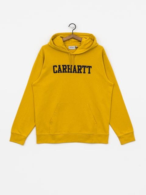 Bluza z kapturem Carhartt WIP College HD (colza/black)
