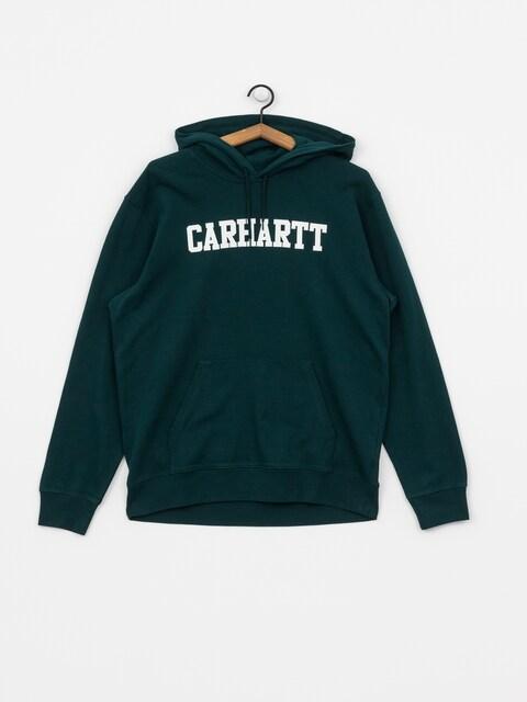 Bluza z kapturem Carhartt WIP College HD (dark fir/white)