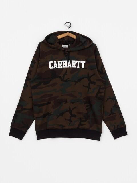 Bluza z kapturem Carhartt WIP College HD (camo evergreen/white)