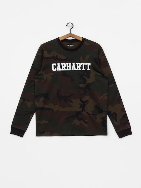 Longsleeve Carhartt WIP College (camo evergreen/white)