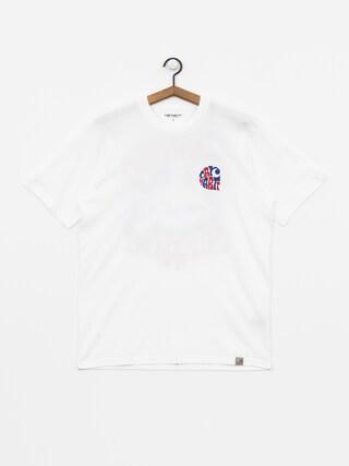 T-shirt Carhartt WIP Clearwater (white)