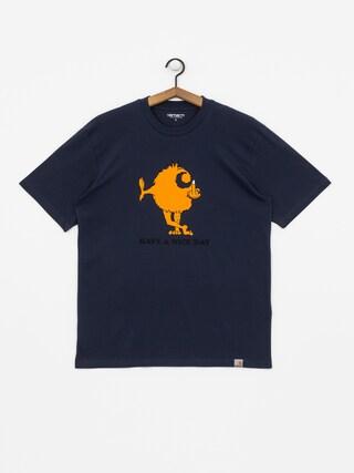 T-shirt Carhartt WIP Nice Day (blue)
