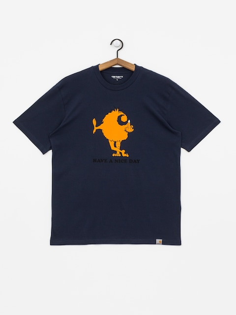 T-shirt Carhartt WIP Nice Day (blue)