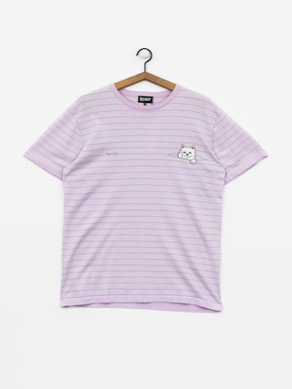 T-shirt RipNDip Peeking Nermal (lavender/lime)
