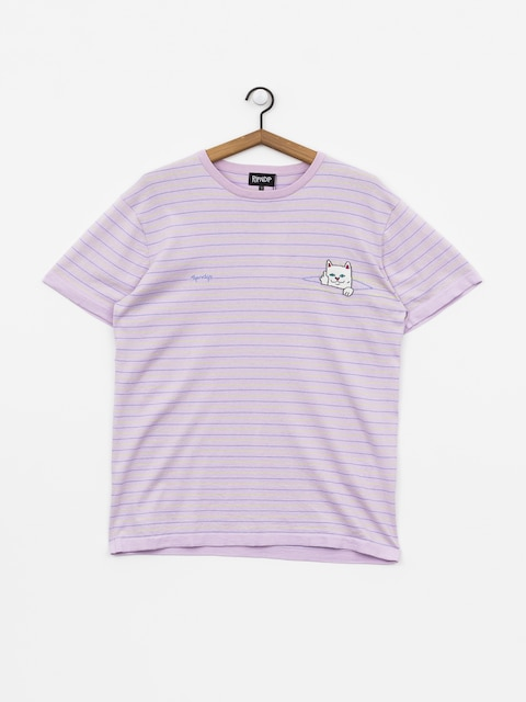 T-shirt RipNDip Peeking Nermal (lavender/lime)