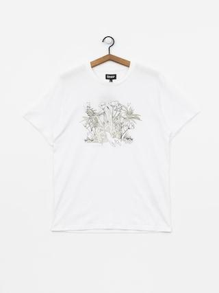 T-shirt RipNDip Nerm Paradise Uv Activated Ink (white)