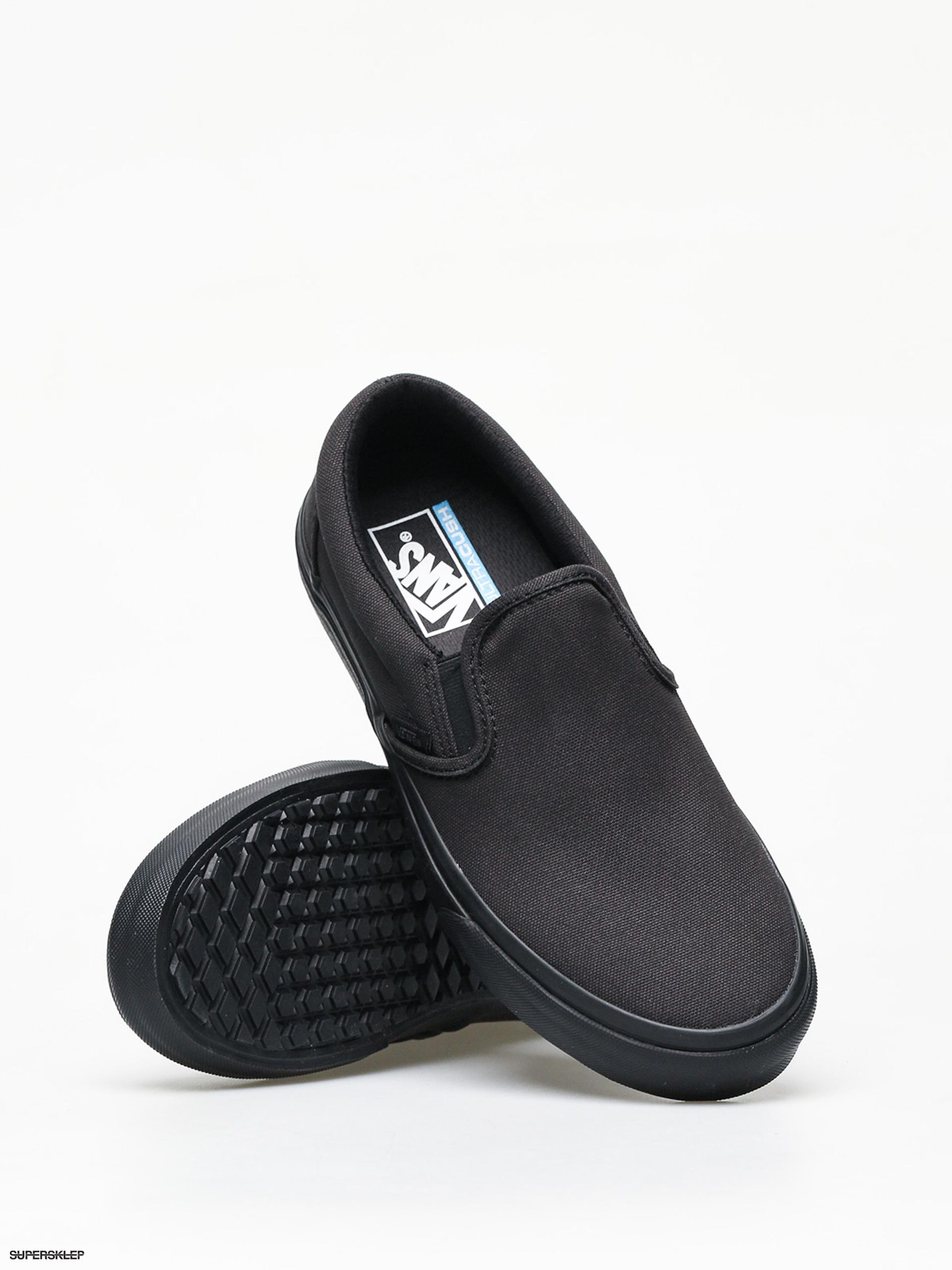 Vans Classic Slip On U (Made For The Makers) Black Black | Footshop