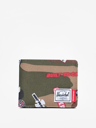 Portfel Herschel Supply Co. Independent Roy (woodland camo multi independent logo)